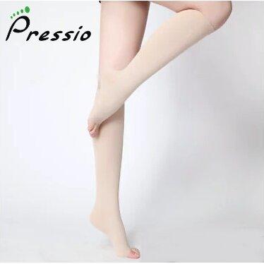 Ciorapi Compresivi Medicinali Pressio AD bej varf deschis 15-21 mmHg